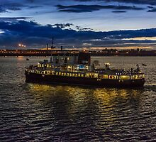 Royal Iris Mersey Ferry at twilight by Paul Madden