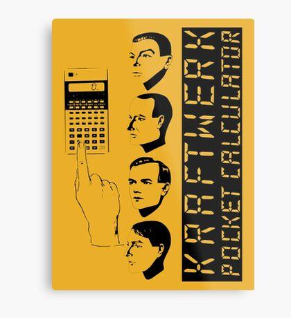 KRAFTWERK - COMPUTER WORLD - POCKET CALCULATOR Metal Print