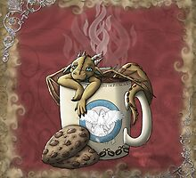 [Tea Cup Dragon] Coffee by MeaKitty
