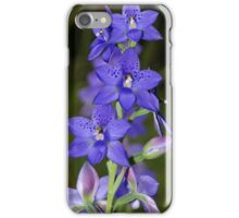 Thelymitra ixioides (Spotted Sun-orchid)  iPhone Case/Skin