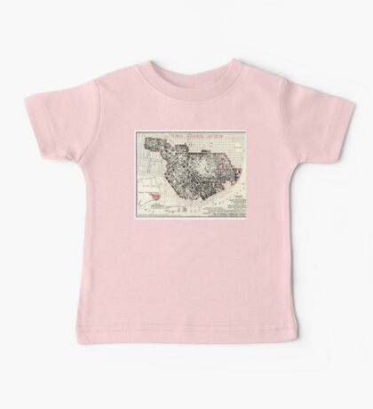 San Francisco - California - 1908 Baby Tee