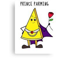 Prince Parming Canvas Print
