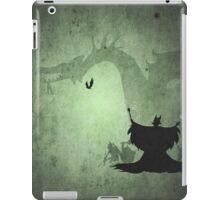Maleficent inspired design. iPad Case/Skin