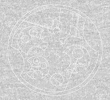 """I Don't Shave For Sherlock Holmes"" Circular Gallifreyan (White) Kids Clothes"