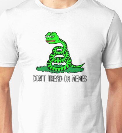 Don't Tread On Memes Unisex T-Shirt