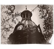 "The Top Of ""Coweta County Courthouse"" Poster"