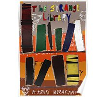 The Strange Library - Haruki Murakami Poster