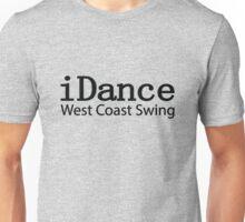 iDance West Coast Swing - B Unisex T-Shirt
