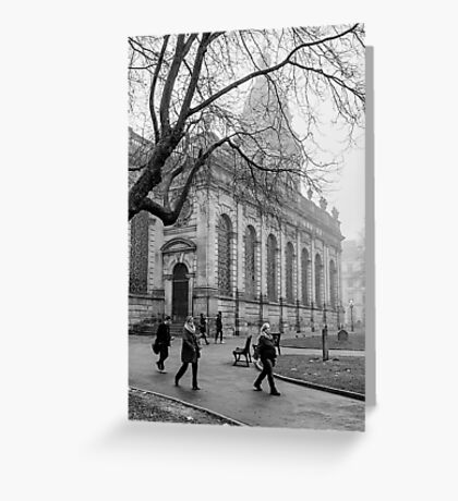 St Philip's Cathedral, Birmingham, UK Greeting Card