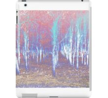 Autumn woods color psycho iPad Case/Skin
