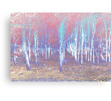 Autumn woods color psycho Canvas Print
