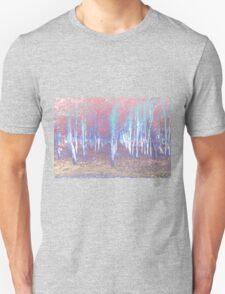 Autumn woods color psycho Unisex T-Shirt