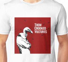 Them Crooked Vultures Album Cover Unisex T-Shirt