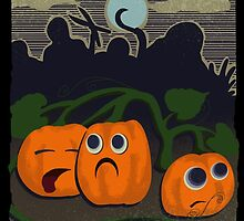 Pumpkin patch massacre by wo0ze