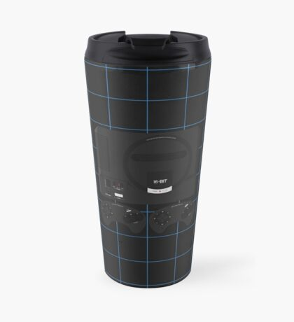 Megadrive single (black) Travel Mug