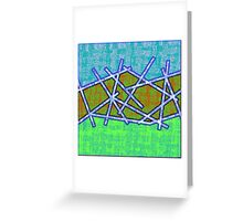1455 Abstract Thought Greeting Card