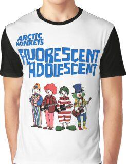 Fluorescent Adolescent - Arctic Monkeys Graphic T-Shirt