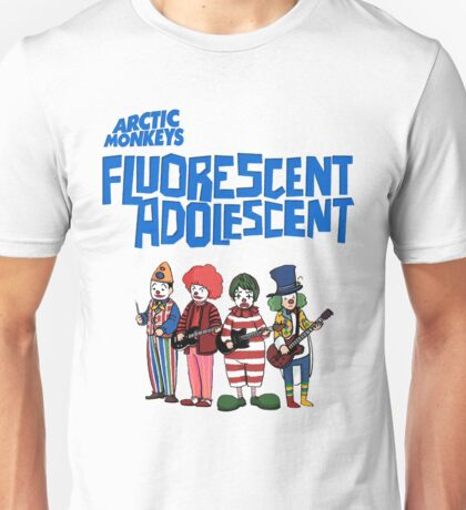 Fluorescent Adolescent - Arctic Monkeys Unisex T-Shirt