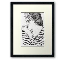 Madonna 5 Framed Print