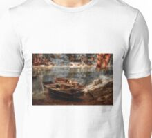 Danube boats, Autumn colors Unisex T-Shirt