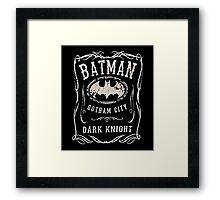 Bat Jacks Framed Print
