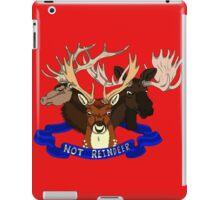 Not Reindeer iPad Case/Skin