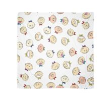 children's emotions pattern background Scarf