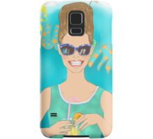 Sixties summer!  Samsung Galaxy Case/Skin