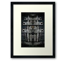 Shipping Steel Framed Print