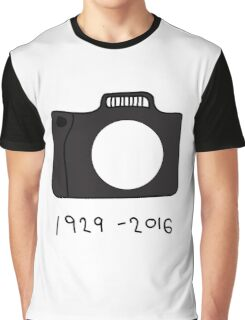 Bill Cunningham Tribute: 1929 - 2016 Graphic T-Shirt
