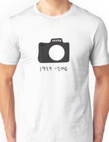 Bill Cunningham Tribute: 1929 - 2016 Unisex T-Shirt
