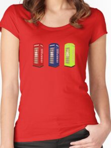 The Phone Booths Women's Fitted Scoop T-Shirt