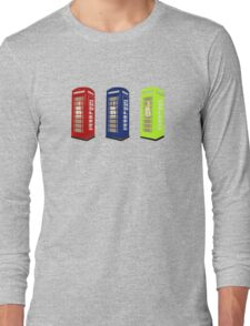 The Phone Booths Long Sleeve T-Shirt