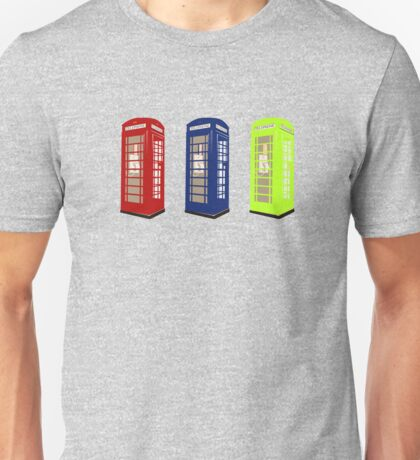 The Phone Booths Unisex T-Shirt