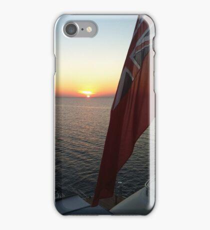 Royal Yacht Ensign Sunset iPhone Case/Skin