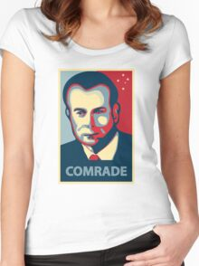 Gough Whitlam - Comrade Women's Fitted Scoop T-Shirt