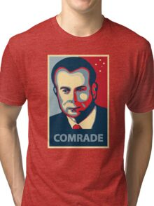 Gough Whitlam - Comrade Tri-blend T-Shirt