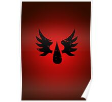 Blood Angels - Sigil - Black - Warhammer Poster