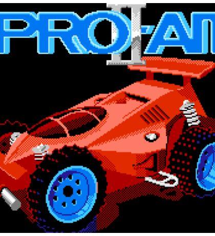 R.C. Pro-Am II (NES Title Screen) Sticker