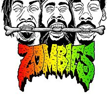 FLATBUSH ZOMBIES BONE EATER by herlin