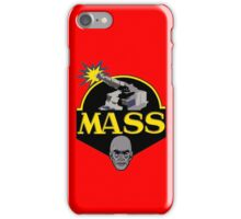 M.A.S.S. The Ultimate Weapon iPhone Case/Skin