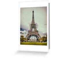 Tour Eiffel in Paris Greeting Card