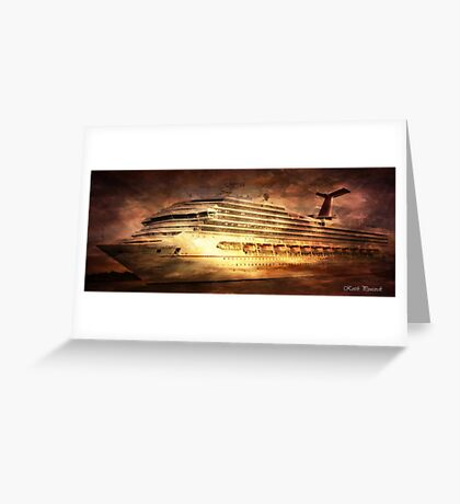 Carnival Triumph  Greeting Card