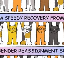 Gender Reassignment Recovery Sticker