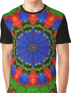Feather Mandala 1 Graphic T-Shirt