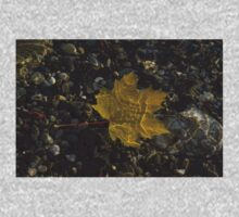 Amber Yellow Sunshine - Maple Leaf and Pebbles Kids Clothes