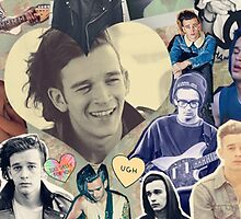 The 1975- Matty Healy collage by the1975x