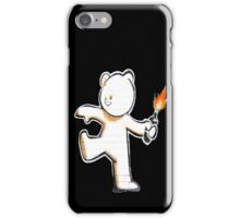 Banksy - The Mild Mild West iPhone Case/Skin