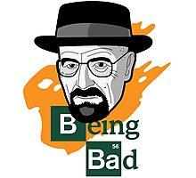 Breaking Bad: Walter White vs Heisenberg Photographic Print