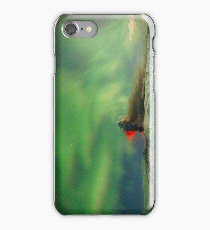 Northern Lights Eruption iPhone Case/Skin